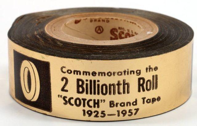 История клейкой ленты – кто и когда изобрел скотч