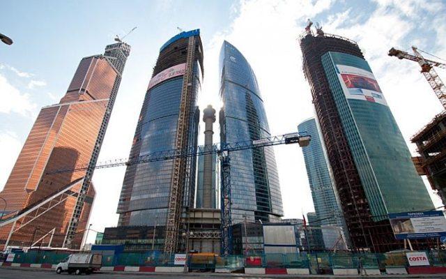 Самое высокое здание Европы Башня «Федерация» находится в Москве