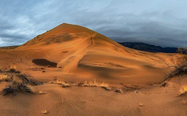 Пески на территории казахского заповедника Алтын-Эмель издают мелодичные звуки