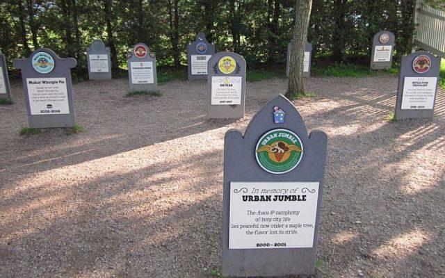Единственное кладбище мороженого в мире – необычный музей вкусов