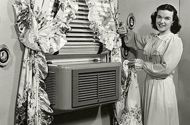 Первый кондиционер изобрел У. Кэриер в начале двадцатого века