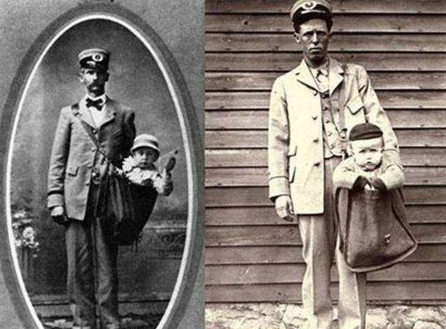 В США закон разрешал отправлять маленьких детей по почте