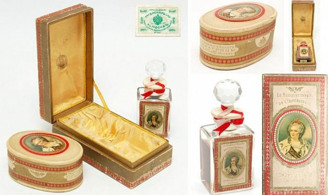 Духи «Любимый букет императрицы»