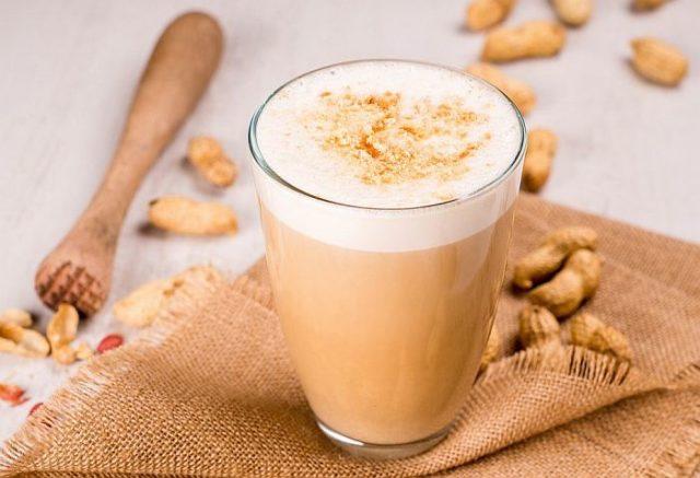 Раф кофе в стакане