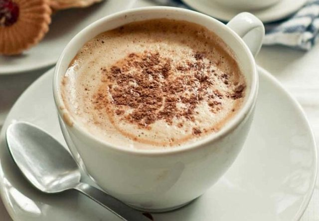 Кофе Раф с корицей