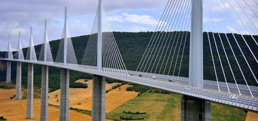 Виадук Мийо над долиной Тарн – самый высокий мост в мире