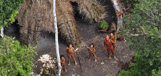 На Северном Сентинельском острове до сих пор обитает первобытное племя
