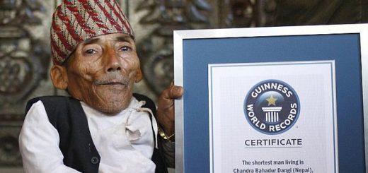 Чандр Бахадура Данги – самый невысокий мужчина в мировой истории