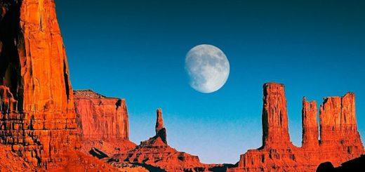 Долина Монументов образовалось без влияния человека