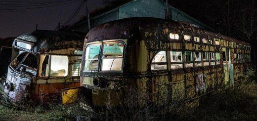 Кто и зачем организовал кладбище трамваев в Пенсильвании и чем оно привлекательно